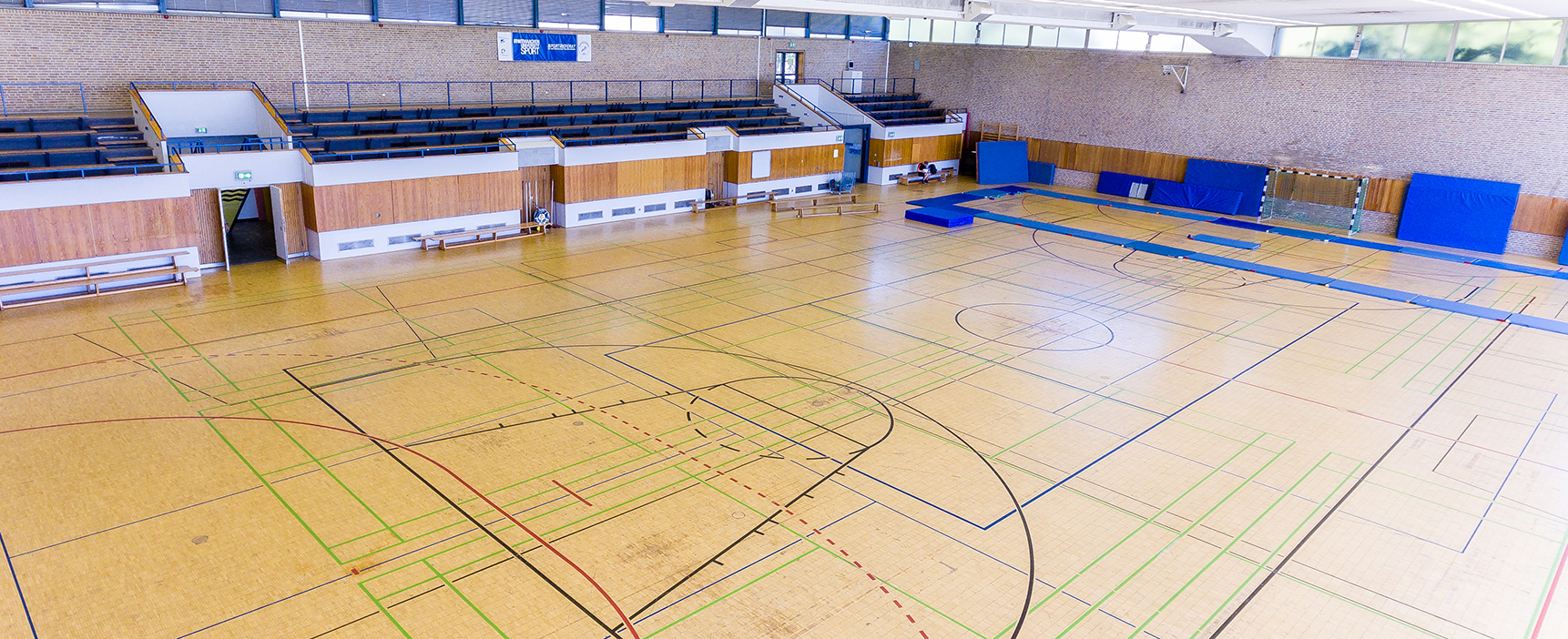 Sports hall at Königshügel